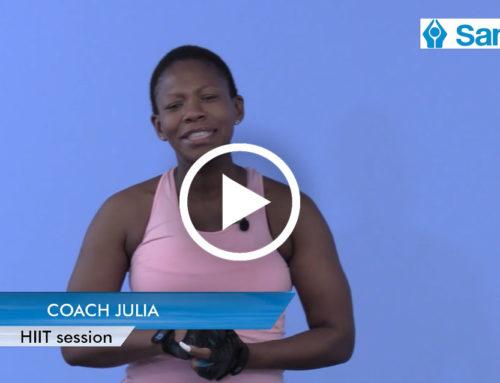 IGNITE 2021 Week 11: HIIT with Coach Julia