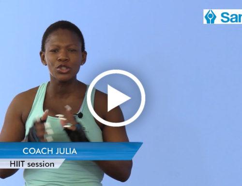 IGNITE 2021 Week 5: HIIT with Coach Julia